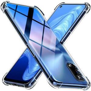Pour Realme 7 Pro 5 g Case Clear Silicone Transparent Antichoc Gel Housse De Téléphone