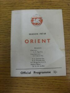 16121967 Leyton Orient v Grimsby Town  stained on front Thanks for viewing - <span itemprop='availableAtOrFrom'>Birmingham, United Kingdom</span> - Returns accepted within 30 days after the item is delivered, if goods not as described. Buyer assumes responibilty for return proof of postage and costs. Most purchases from business s - <span itemprop='availableAtOrFrom'>Birmingham, United Kingdom</span>