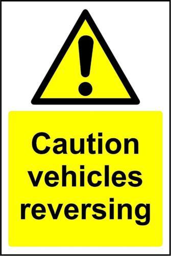 Avertissement Attention véhicules Marche Arrière Signal de sécurité