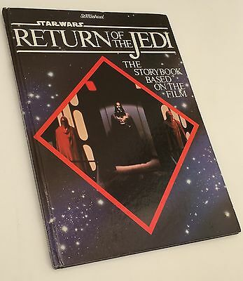 Great Used Condition Michael Star Wars Return of the Jedi Storybook 1983 St