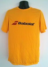 Babolat Tennis T-Shirt 100% Polyester DRY FIT Yellow X-LARGE