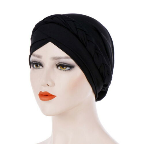 Women Muslim Head Scarf Hijab Hat Hot Turban Wrap Cover Cancer Chemo Cap