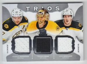 2015-16-UD-THE-CUP-BERGERON-RASK-ERIKSSON-JERSEY-29-40-TRIOS-Game-Use-C3-BRUINS