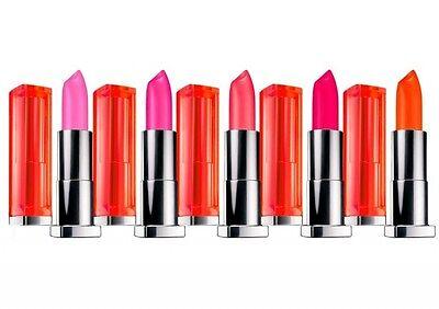 New MAYBELLINE Lipstick SENSATIONAL VIVIDS Color *You Choose*  HOT