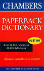 Chambers Paperback Dictionary by Chambers (Paperback, 1998)