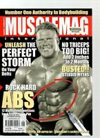 MUSCLE MAG INTERNATIONAL MAGAZINE - August 2006