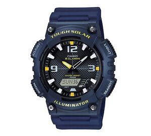 Casio-Watch-AQS810W-2AV-Tough-Solar-Illuminator-Anadigi-Blue-Yellow-COD-PayPal