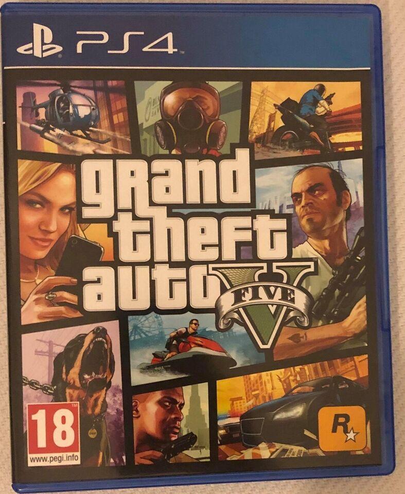 Spil til PS4