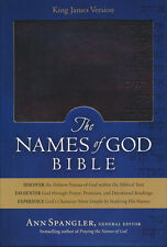 KJV Names of God Bible Mahogany, Hebrew Name Design Duravella