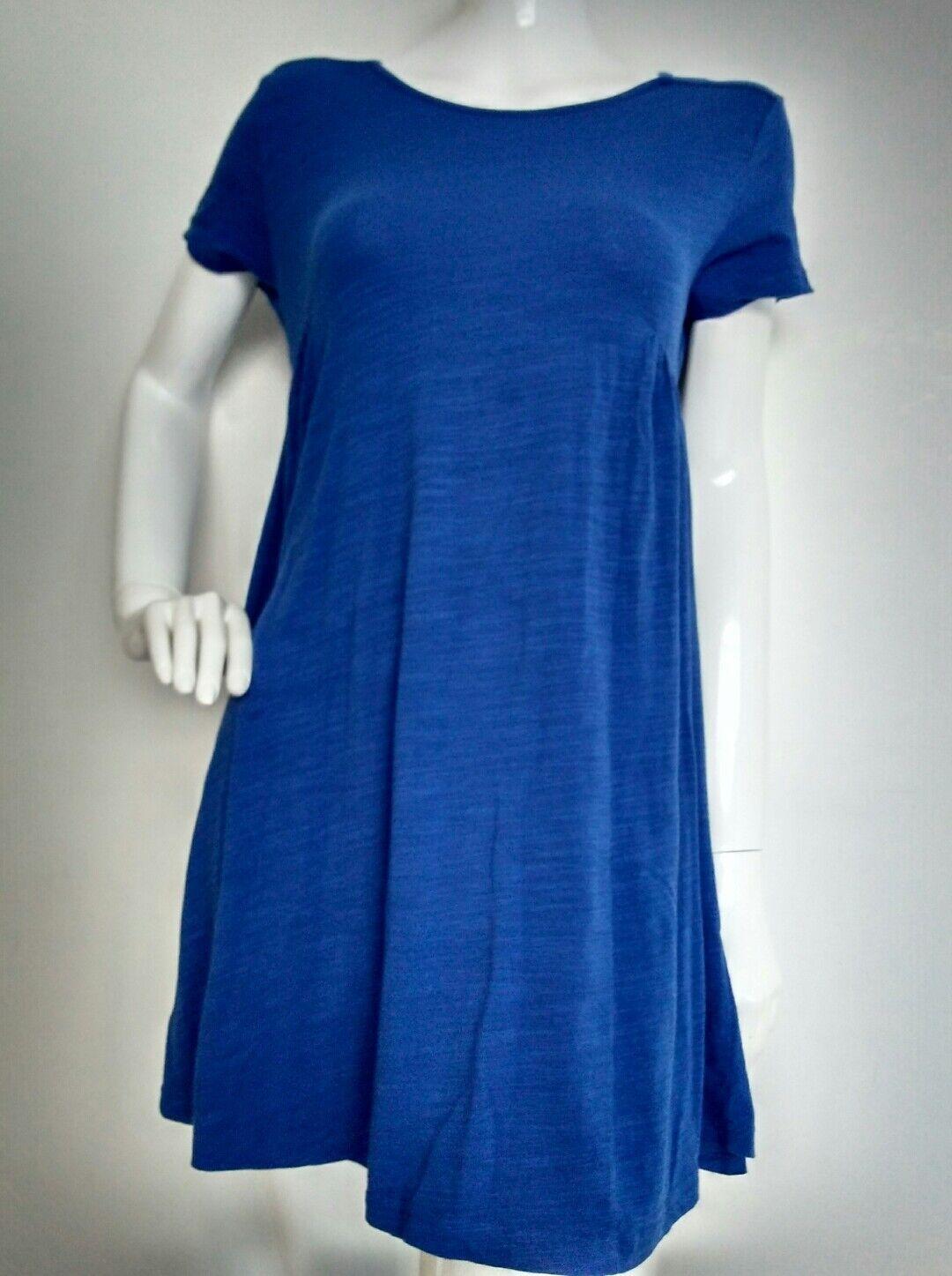 HUSH loose casual jersey dress size XS --VGC-- short sleeve cotton blend