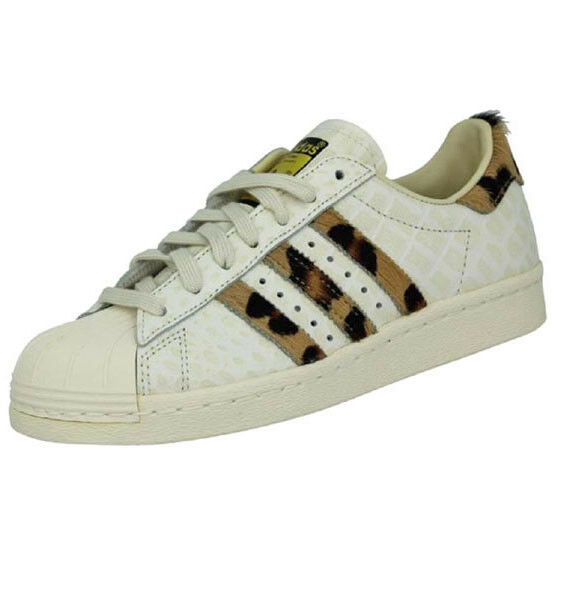 Adidas Superstar 80s 80s 80s Animal Pony Effect Vintage Sneakers Limited Edition Schuhe 7428a4