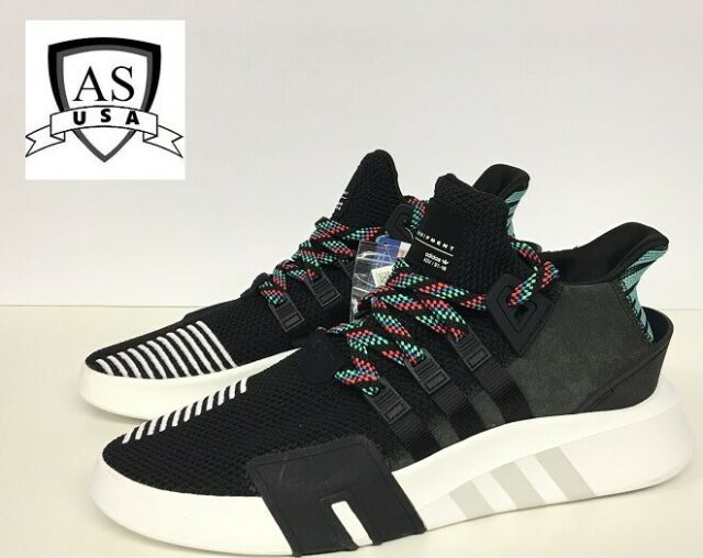 Adidas EQT Equipment Bask ADV 91/18 Core Black White Green CQ2993 Size 11