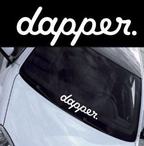 Dapper-Sticker-Decal-JDM-DRIFT-EURO-ILLEST-FATLACE-VINYL-CAR-STANCE-CLEAN-FCK