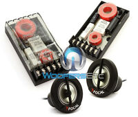 Pkg Focal Xo-13vr Polyglass 2-way Crossovers + Tn-41 1 Tweeters Car Audio