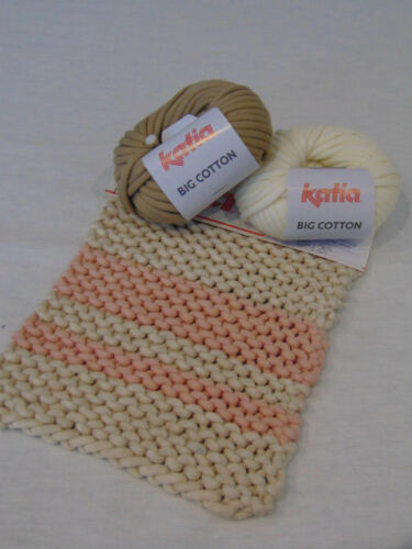 100g//7 € Big Cotton-Katia 50g-Garn-lana