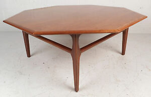 Image Is Loading Mid Century Modern Octagon Coffee Table By J B