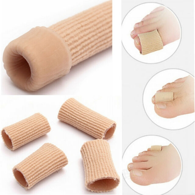 Gel Ribbed Tube Moisturizing Fingers Toes Protector For Finger Sore Corns