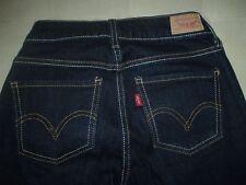 LEVIS 535 WOMENS Size 0 Skinny Slim Legging Tapered Blue Denim Jeans