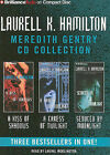 Laurell K. Hamilton Meredith Gentry CD Collection: A Kiss of Shadows, a Caress of Twilight, Seduced by Moonlight by Laurell K Hamilton (CD-Audio, 2011)