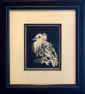 Pablo-Picasso-La-Petite-Colombe-Little-Dove-Original-Mourlot-Lithograph