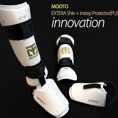 MOOTO EXTERA shin & instep guard gear/Protector,Martial arts shin & instep guard