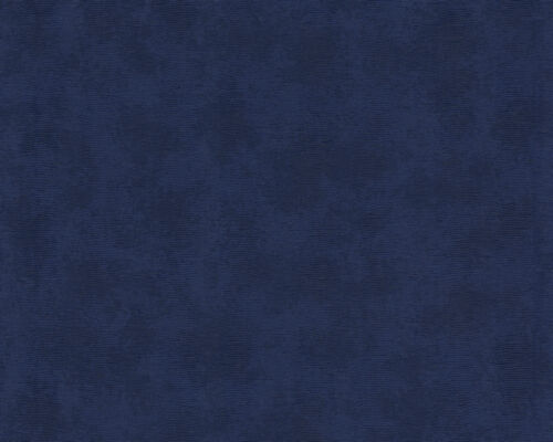 Versace Home Wallpaper 935701 Wallpaper Blue Plain Colour Satin Baroque Fleece