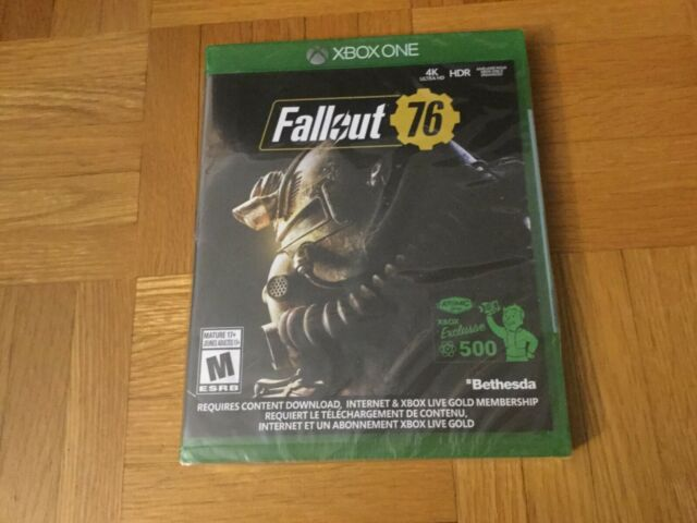 Fallout 76 Microsoft Xbox One with 500 Atoms