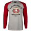 Majestic San Francisco 49ers NFL T Shirt Mens S or M Jersey Raglan