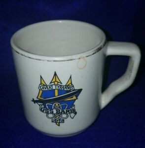 Vintage-Genuine-USS-Barb-SSN-596-Coffee-Mug-from-late-1970s-Gull-Associates