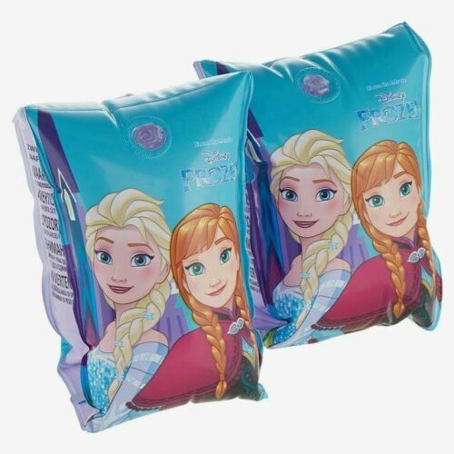 Officielle Disney Frozen Anna & Elsa Gonflable Enfants Brassards Piscine