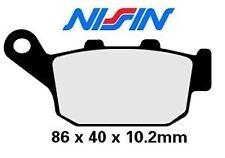 Jeu 2 plaquettes frein Nissin HONDA XL 600 Transalp NT 650 Deauville FMX 2P204NS