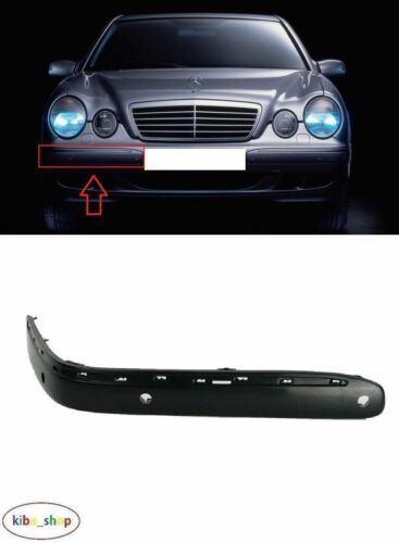MB E-CLASS W210 1999-2002 FRONT BUMPER MOULDINGS TRIM PDC RIGHT O//S DRIVER