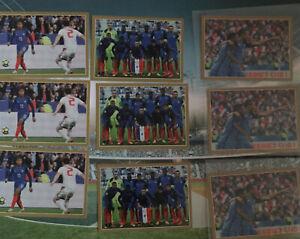 Lot 3 X #55 3 X #90 3 X #47 Panini Mbappé Carrefour World Cup 2018 Rookie RC PSG