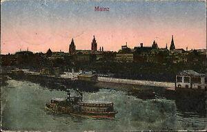 Schiffe-1930-Rhein-Dampfer-Schiff-Anlegestelle-Hafen-Mainz-Rheinland-Pfalz