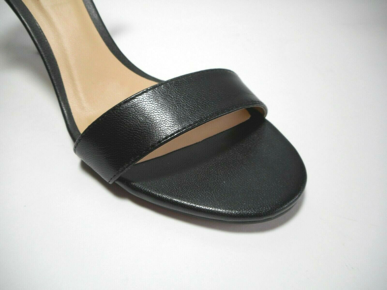 BRAND NEW STEVE MADDEN Size 8.5M Black Leather Leather Leather Ankle Strap Pumps shoes 3cee3f