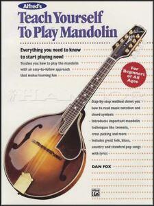 Mode 2019 Teach Yourself To Play Mandolin Tutor Book Method Learn How To Play Dan Fox