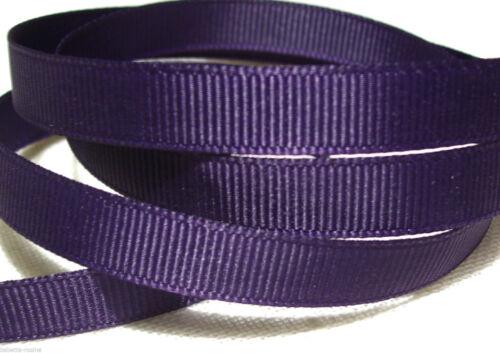 RUBAN GROS GRAIN UNI GRAND TEINT ** 10 mm ** vendu par mètre couture