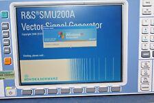 Rohde & Schwarz SMU200A Vector Signal Generator 30 Day
