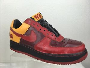 94762b76e9b4 NIKE AIR FORCE 1 MENS SZ 10 LEBRON JAMES HATER CHAMBER OF FEAR AF1 ...