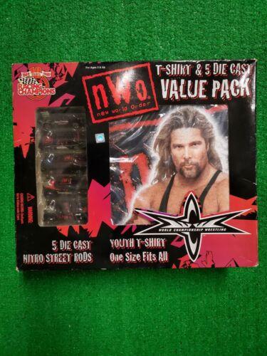 Vintage Wrestling Youth Size Shirt Kevin Nash  WCW