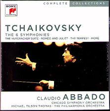 ABBADO TCHAIKOVSKY Symphony 1-6 Suite 1-3 1812 Manfred 8CD Michael Tilson Thomas