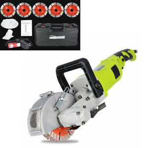 Electric-Wall-Chaser-Groove-Steel-Concrete-Cutting-Slotting-Machine-AC220V-4000W