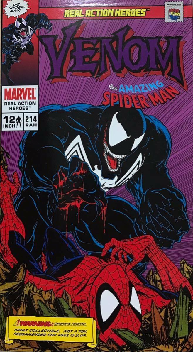 Medicom RAH VENOM Amazing Spider-man 1 6 Scale Figure Doll Comic Version LE  NIB