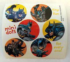 60 DC Comics Batman Super Hero Stickers Party Favors Teacher Supply
