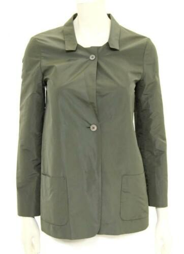 Designer Ladies Beautiful Blazer Green 34 Jacket Taffeta Italy Sander Jil BqawaFZT