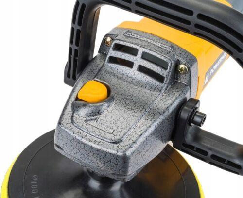 Poliermaschine Autopoliermaschine 180mm Schleifmaschine 2600W 500-3500U//min Set