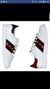 Details zu Schuhe Adidas Stan Smith mit samt Rot und Grün Velour Piu' Perlen