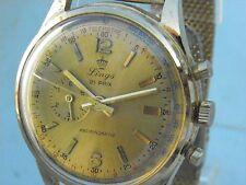 Montre LINGS 21 Prix ancien chronographe télémètre pour Homme mécanique