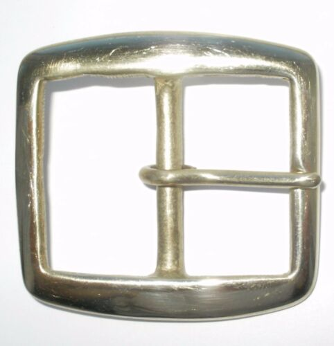 1.75 INCH 45MM SOLID CAST BRASS FULL BELT BUCKLE
