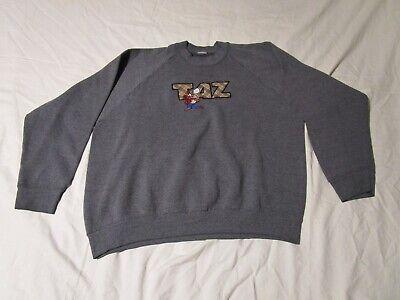 Warner Bros Looney Tunes Mens Zip Hoodie Sweatshirt Gray